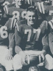 Darrell Hueth of Fort Peck played for the Glasgow Scotties