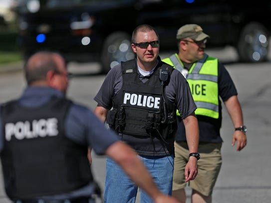 Scene at Noblesville High School after an active shooter