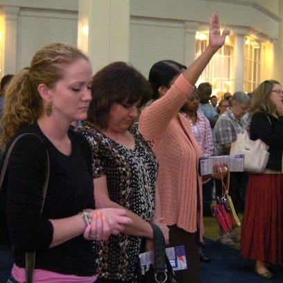 A National Day of Prayer event is set for 12:10 p.m. Thursday in the Center Court of the Alexandria Mall. The public is invited to participate.