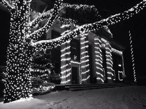 Holiday Lights DePauw