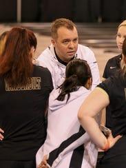 Vanderbilt women's bowling coach John Williamson led