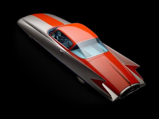 "Chrysler (Ghia) Streamline X ""Gilda,"" 1955. Designed by Giovanni Savonuzzi and Virgil Exner. Courtesy of Scott Grundfor and Kathleen Redmond."