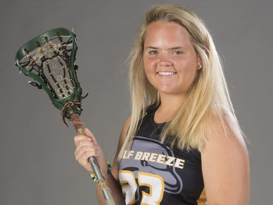 KateReagan Costello, Girls Lacrosse Gulf Breeze.