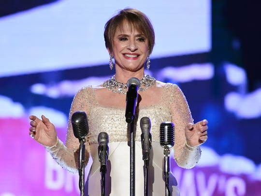 Patti LuPone performs onstage during the 60th Annual GRAMMY Awards at Madison Square Garden on January 28, 2018 in New York City.