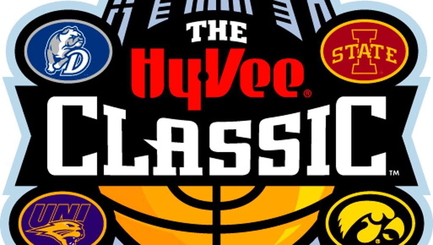 Tip times, TV set for Hy-Vee Classic