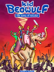 Alexis Fajardo is the author of the Kid Beowulf comic