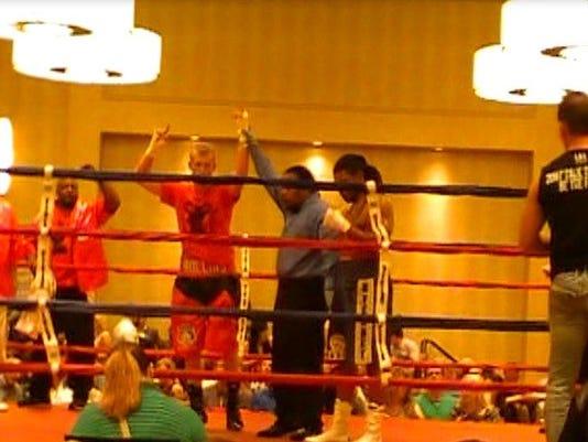 Rollins (red) winner over Taylor