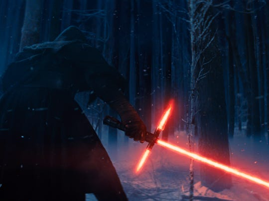 Adam Driver's Kylo Ren was revealed to be Princess