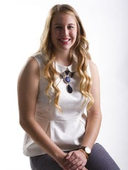 Madison Cernohous, a senior at Estero High School, hopes to become a midwife and own a birthing center. Madison Cernohous, a senior at Estero High School, is a candidate for The News-Press Rising Star award.