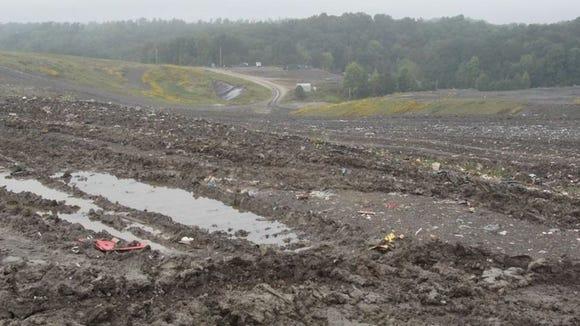 Blue Ridge Landfill in Estill County in September 2015.