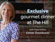 Exclusive Dinner at The Hill in Closter