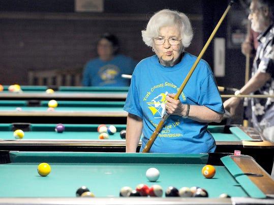 Billiards Senior Games 2012