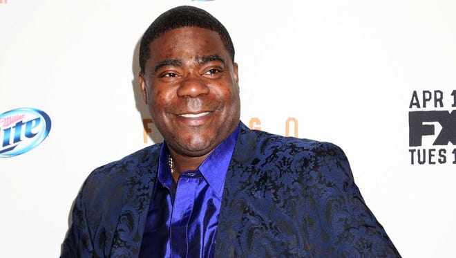 Actor Tracy Morgan is in critical condition at a hospital in New Brunswick, NJ Saturday morning June 7, 2014 following a violent multi-vehicle crash on the NJ Turnpike overnight.