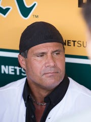 """Jose Canseco was """"nervous as hell,"""" one teammate said,"""