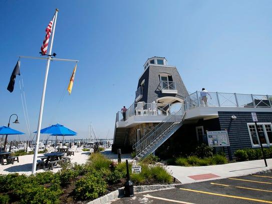 The Sandy Hook Bay Marina, developed by James Bollerman,