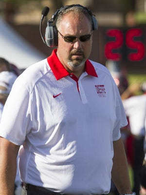 After six years as the head coach of the Dixie State football program, Scott Brumfield announced Monday that he will be stepping down at the end of the season.