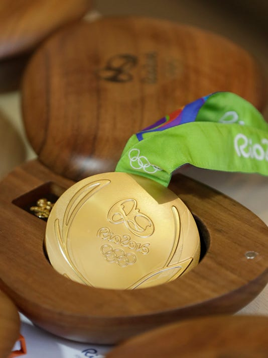 Rio 2016 Olympic medals
