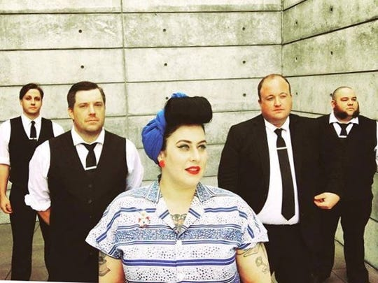 Davina and the Vagabonds perform Dec. 29 at Pioneer Place on 5th.