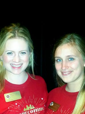 Kristen Sikora, left, and Alison Christie, director and assistant director, Student Executive Council