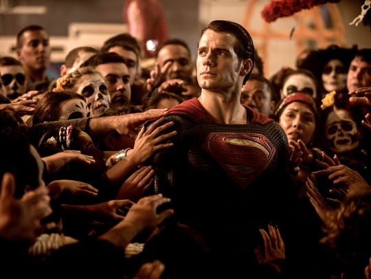 "Henry Cavill as Superman in ""Batman v Superman: Dawn"