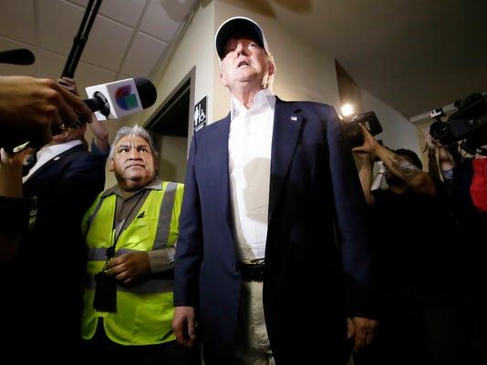 AP GOP 2016 TRUMP BORDER A ELN USA TX
