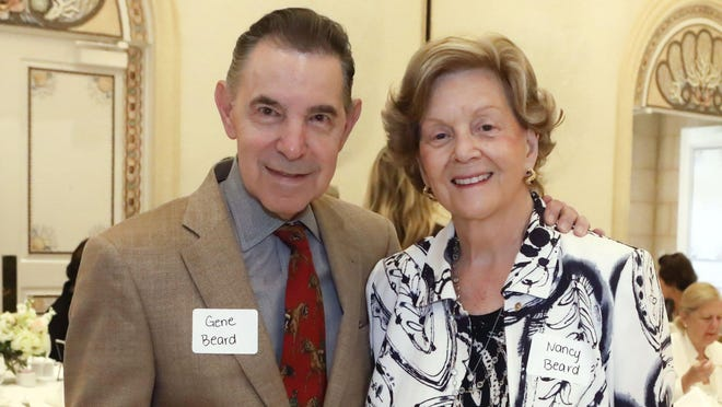 Gene and Nancy Beard at The Cleveland Clinic Florida Health Matters Breakfast Reception at The Colony on Jan. 21.