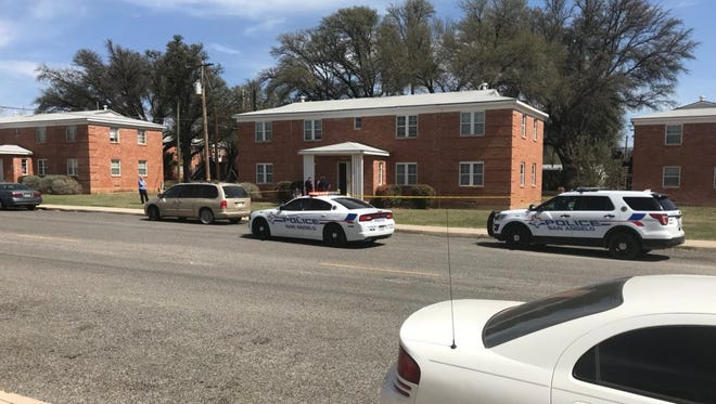 Police responded to the 200 block of South Fillmore Street, where were unconfirmed reports of a shooting after noon Monday, March 19, 2018.