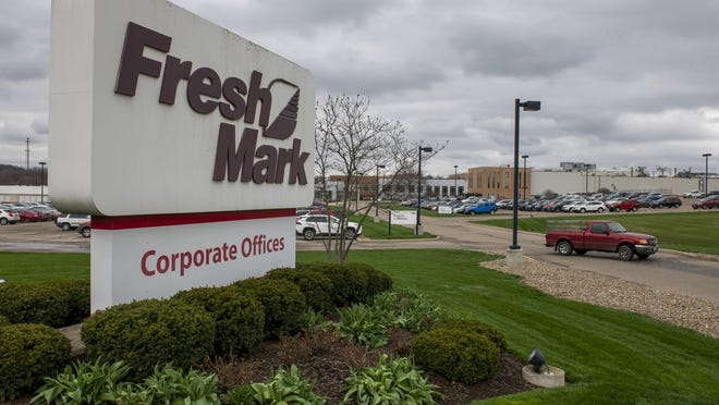 Fresh Mark was the only area meatpacking company that temporarily closed one of its plants, when it did so in Salem on April 11.