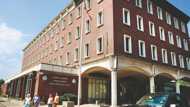 The Thomas J. McIntyre federal building.
