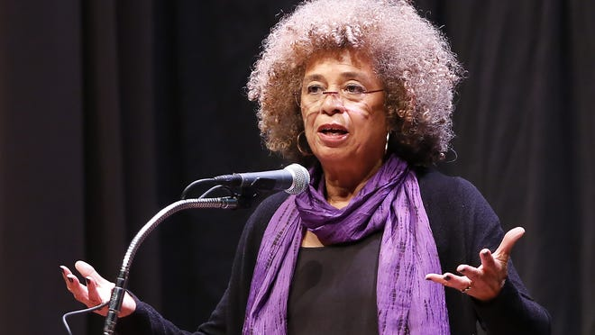 Angela Davis, social justice activist, author and educator will speak at Pensacola State College on March 17, 2015.