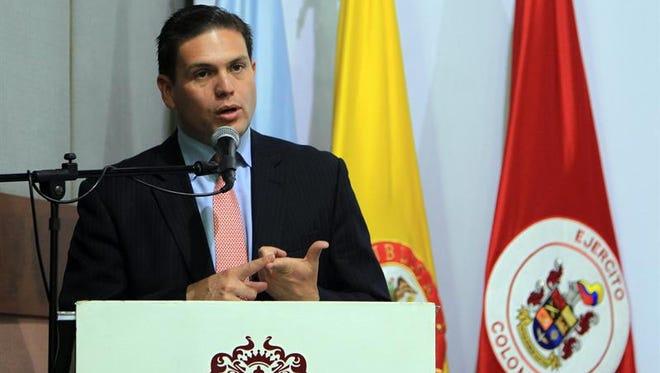 El embajador colombiano en Washington, Juan Carlos Pinzón.