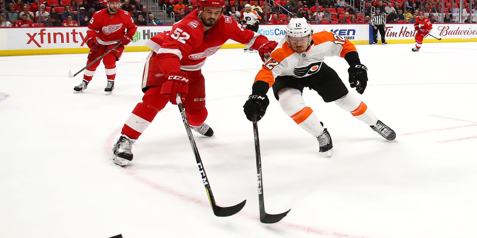 Game thread: Detroit Red Wings lose to Philadelphia Flyers