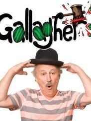 The unpredictable comic Gallagher will be in El Paso