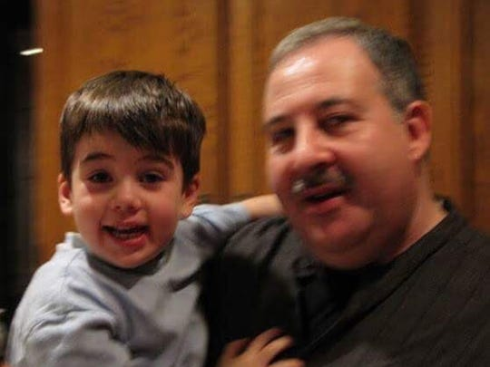 Noah and Lenny Pozner. Noah, 6, was killed when a gunman opened fire at Sandy Hook Elementary School in Newtown, Conn., on Dec. 14, 2012.