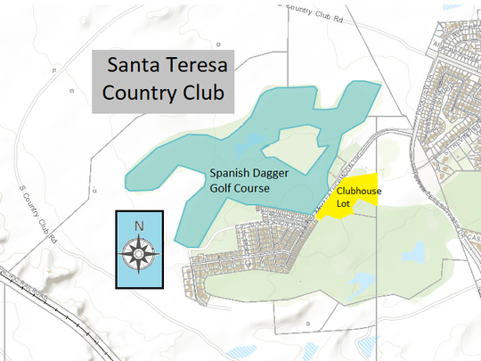 Santa Teresa Country Club Map