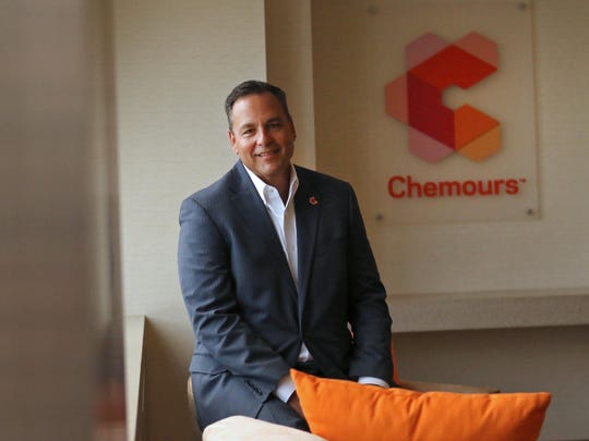 Chemours CEO Mark Vergnano. The company's shareholders said they are pleased with Chemours' turnaround.