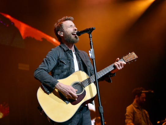 Dierks Bentley performs for the Country Rising Benefit