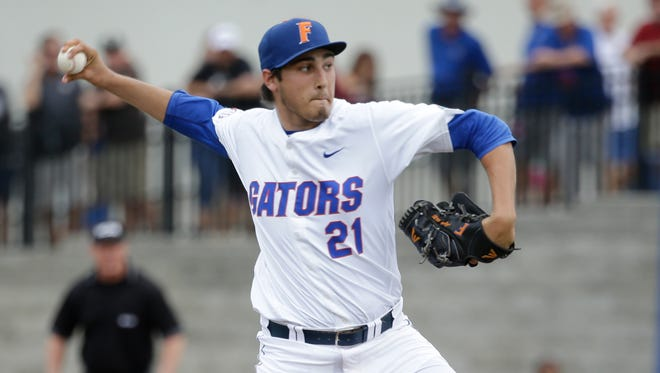Tigers' top pick Alex Faedo was named the College World Series Most Outstanding Player.