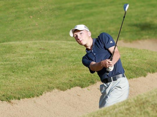 Senior Dan Dunn of Lourdes Academy/Valley Christian is the 2018 Oshkosh Northwestern Media All-Area Boys Golf Player of the Year.