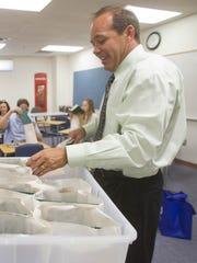 Hamilton High School Principal Ken James.