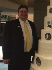 Pat Olejniczak, president-elect of Kiwanis Club of