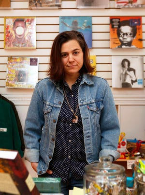 Singer-songwriter Jennifer O'Connor just opened The Kiam Records Shop in Nyack. The shop also sells books and accessories.