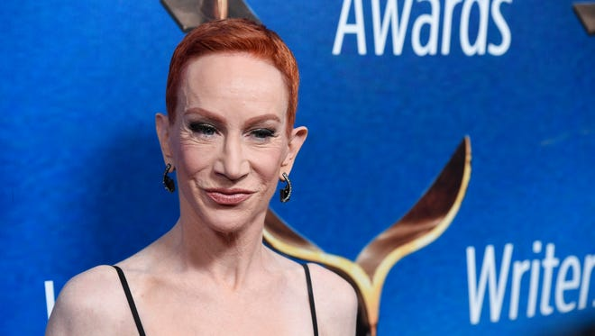 Kathy Griffin says she'll be appearing in upcoming shows in New York and Washington.