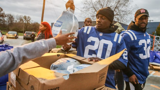Colts safety Darius Butler has volunteered relentlessly in the community since arriving in Indianapolis in 2012.