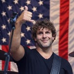 Billy Currington performs during Concert Series on June 12, 2015 in New York City. He will be kicking  off the Reno Rodeo June 15.