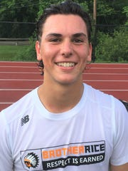 Brother Rice's Justin Glod scored three four-period goals to lead the comeback in an 8-7 quarterfinal win over Northville.