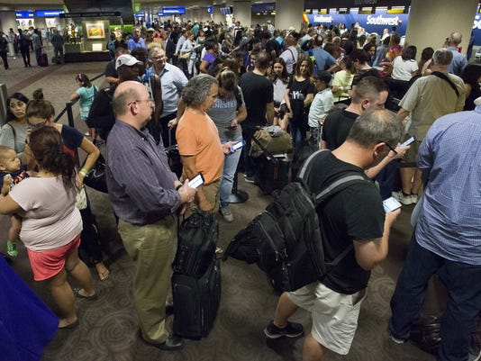 Southwest Airlines delays