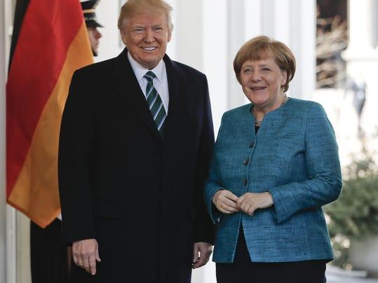 Donald Trump,Angela Merkel