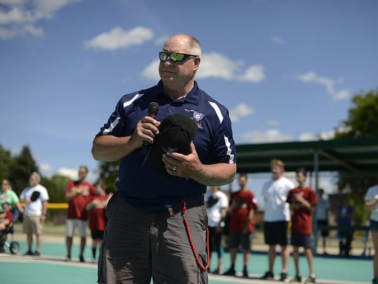 Paul Liegeois, founder of the Miracle League of Green
