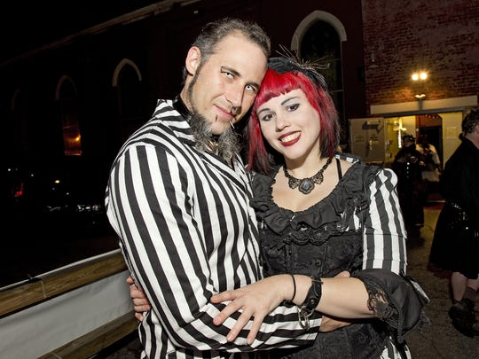 The Pandora Society hosted the annual Cincinnati Halloween Masquerade at Southgate House Revival in Covington.